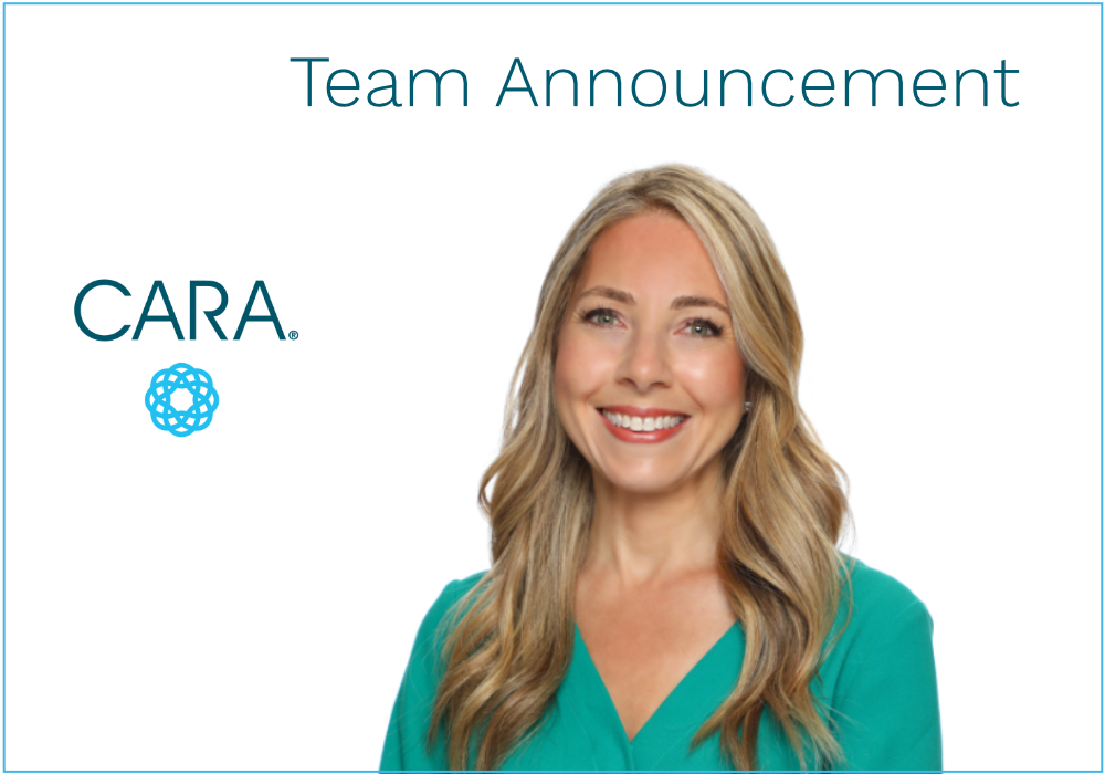 We are thrilled to welcome Jessica Dulle, Account Executive, to CARA!