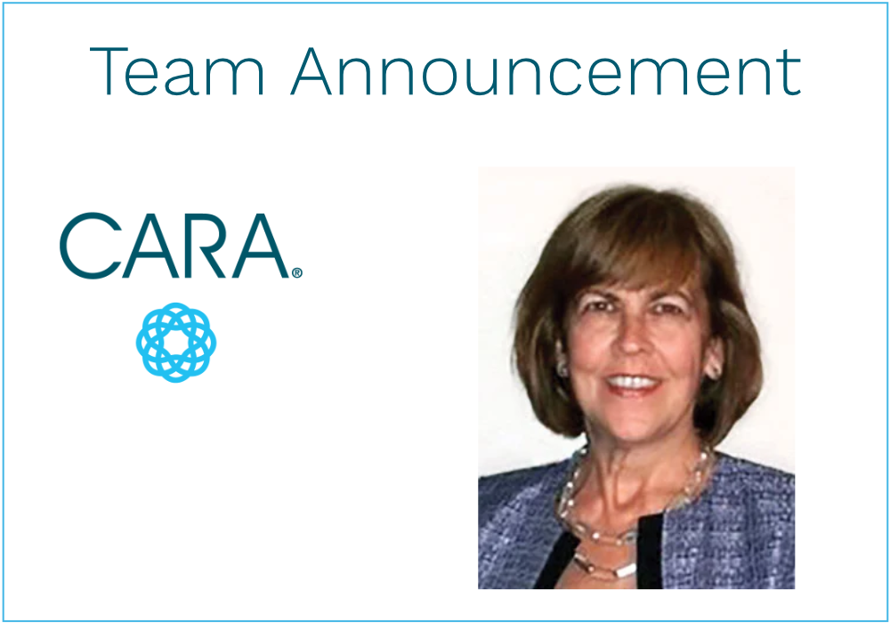 We're thrilled to welcome Christine Johnson, Director, Client Solutions, to CARA!
